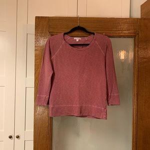 JAMES PERSE Berry Sweatshirt